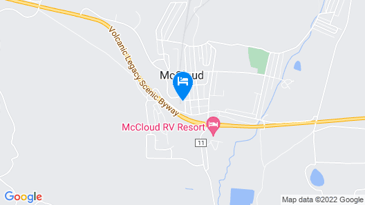 Mccloud Mercantile Hotel Map