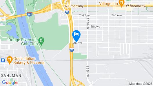 BridgePointe Inn & Suites Map