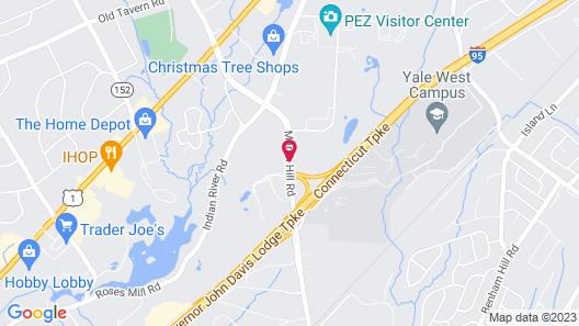 Courtyard by Marriott New Haven Orange-Milford Map