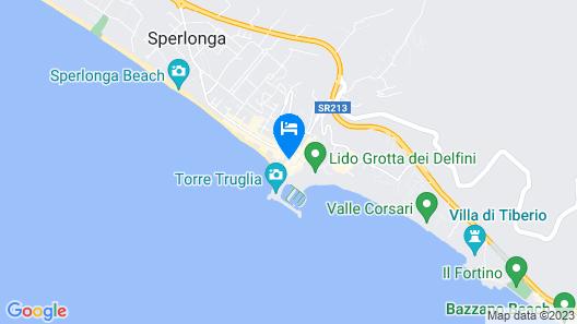 Casa Diana Sperlongaresort Map