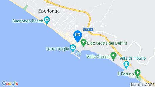 Casa Ninfa Sperlongaresort Map