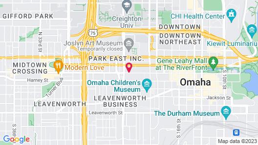EVEN Hotels Omaha Downtown, an IHG Hotel Map