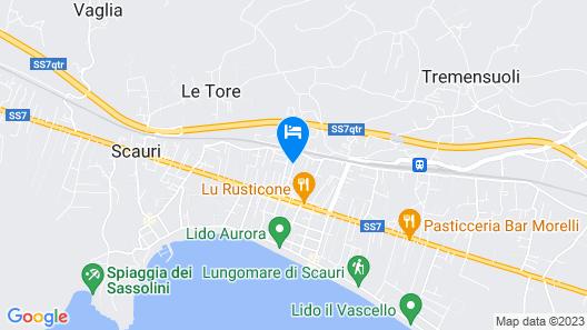 Appartamento Lucia Map
