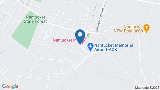 Nantucket Inn Map