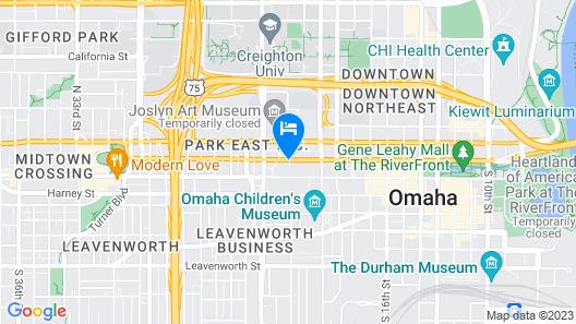 402 Hotel Map