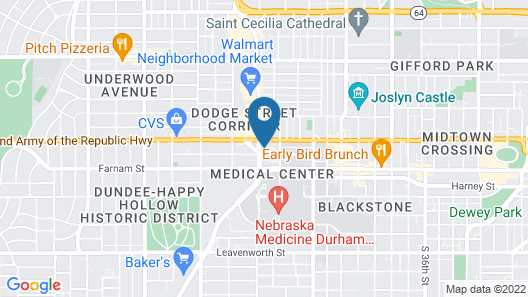 Home2 Suites by Hilton Omaha UN Medical Ctr Area Map