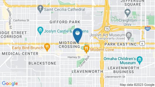 Element Omaha Midtown Crossing Map