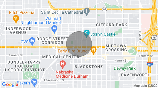 Beautiful Apartment Right by UNMC and Blackstone! Map