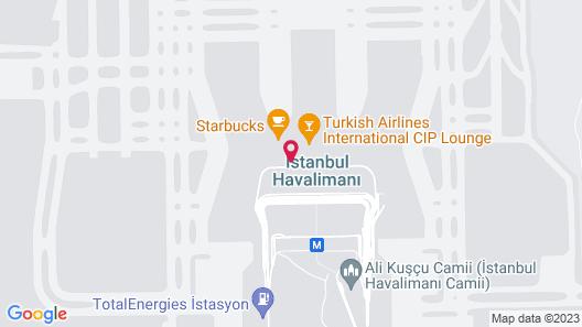 YOTELAIR Istanbul Airport AIRSIDE Map