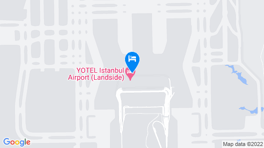 YOTEL Istanbul Airport LANDSIDE Map