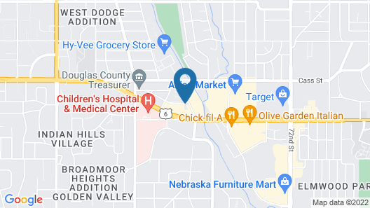 Staybridge Suites Omaha 80th And Dodge Map