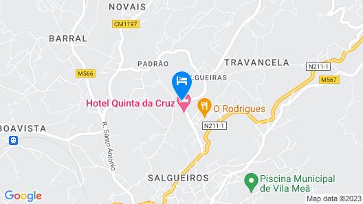 Hotel Rural Quinta Da Cruz Map
