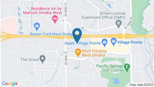 Hilton Garden Inn Omaha West Map
