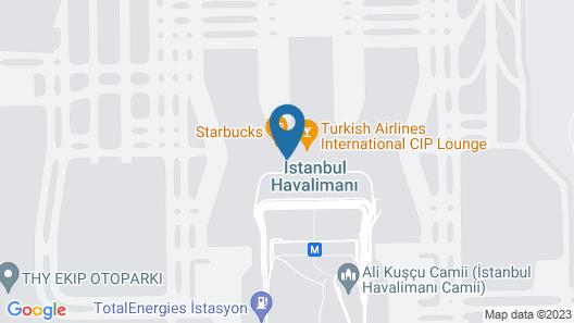Ambassador Spa & Beauty Airport Lounge Map