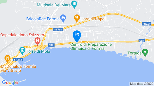 Grande Albergo Miramare Map
