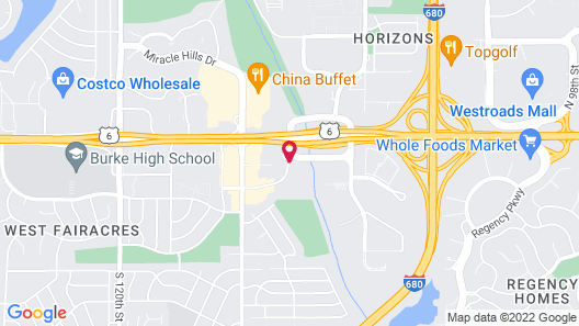Hampton Inn Omaha/West Dodge Road Map
