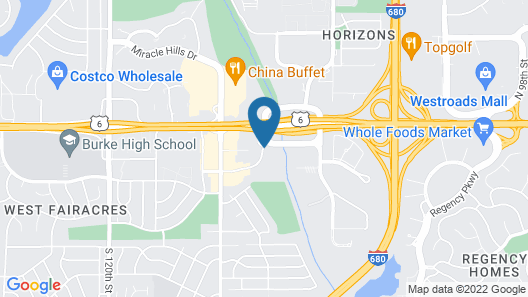 Hampton Inn Omaha/West Dodge Road Map