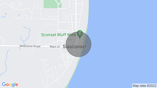 Private Beach Cottage for two in Sconset! Map