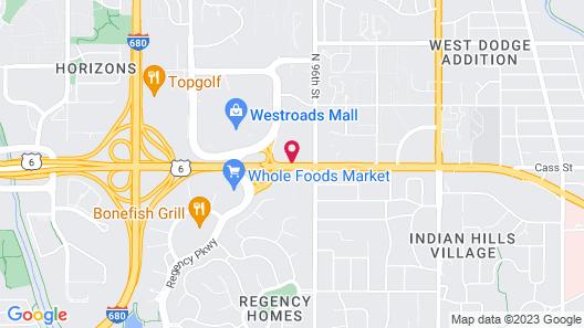 AmericInn by Wyndham Omaha Map