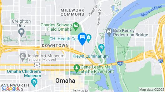 Hilton Omaha Map