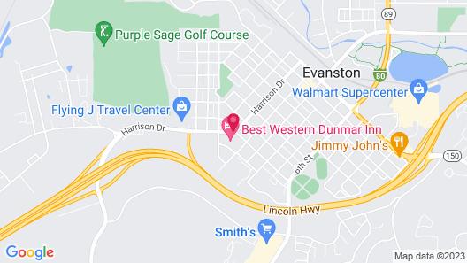 Best Western Dunmar Inn Map