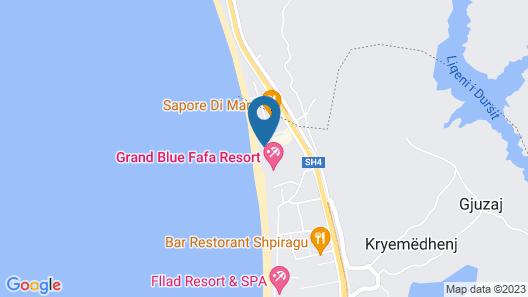 Albanian Star Hotel Map
