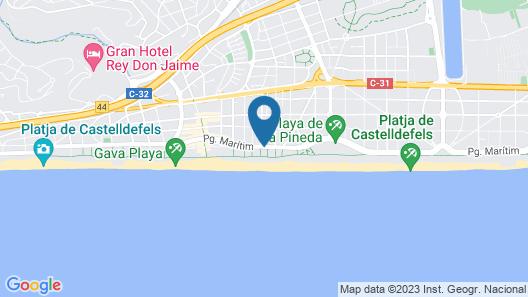 Bel Air Hotel Map