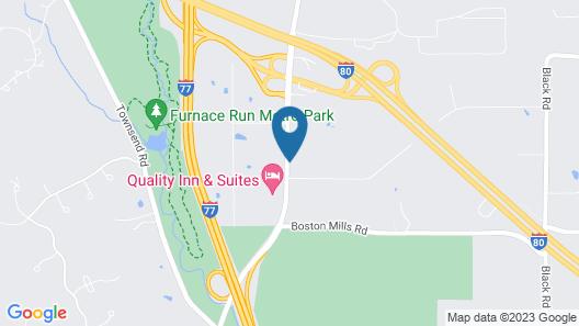 Super 8 by Wyndham Richfield Area Map