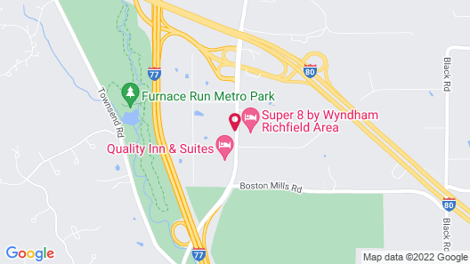 Hampton Inn Richfield Map