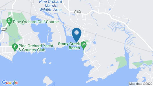 Thimble Islands Bed & Breakfast Map