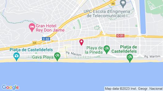 Hotel 139 Map
