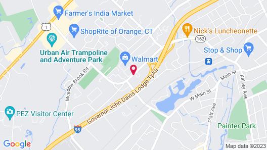 Hampton Inn & Suites New Haven - South - West Haven Map