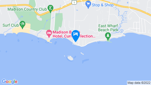 Great Location! Middle Beach Road Map