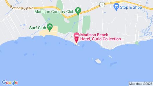 Madison Beach Hotel Map