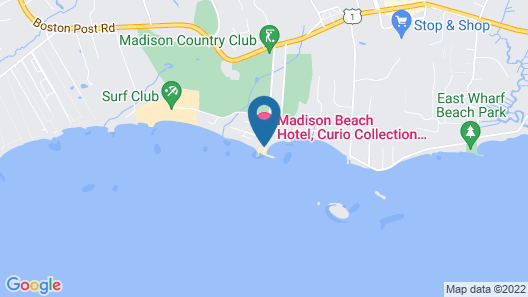 Madison Beach Hotel Map