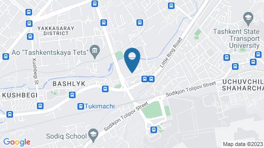City Line Boutique Hotel Map