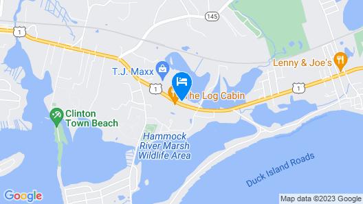 Lamplighter Motel - Clinton, Connecticut Map
