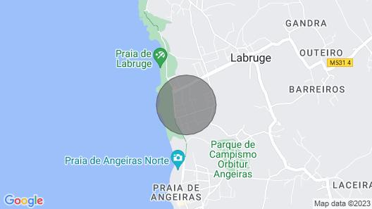Beach House, Labruge, Porto Map