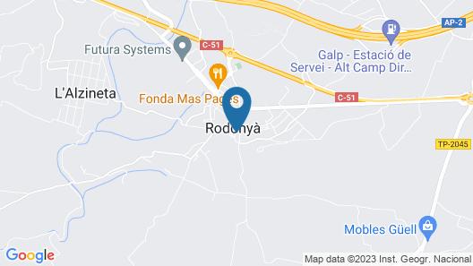 Rural Jordà Map