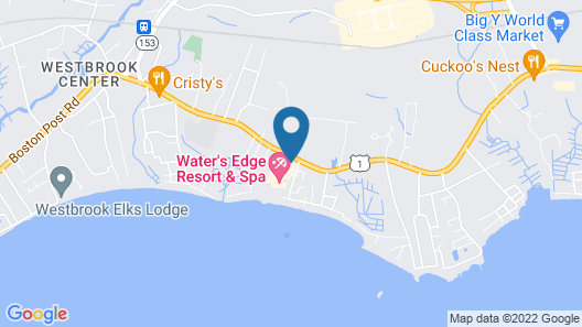 Water's Edge Resort and spa w Indoor and Outdoor Pool and Beach. Condo Sleeps 6 Map