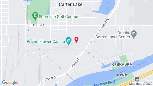 La Quinta Inn & Suites by Wyndham Omaha Airport Downtown Map
