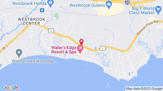 Water's Edge Resort & Spa  Map