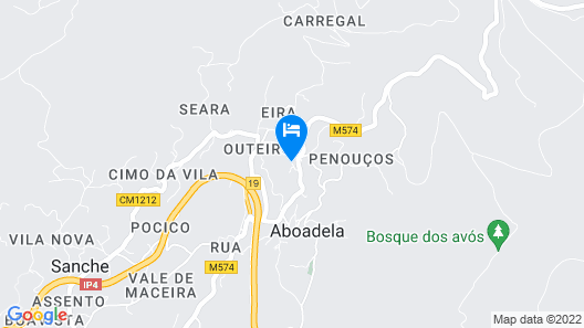 Casal de Aboadela Map