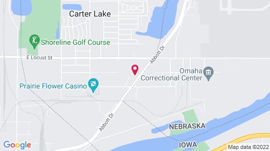 Candlewood Suites Omaha Airport, an IHG Hotel Map