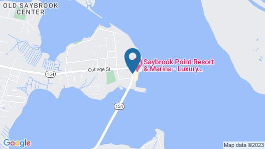 Saybrook Point Resort & Marina Map