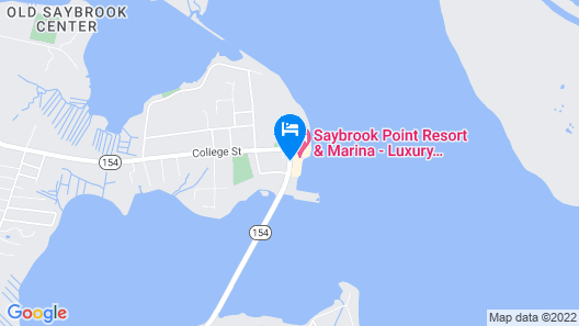Saybrook Point Resort & Marina Map