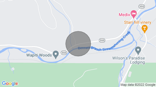 Lil' Slice of Heaven in the Mountains of Elk County, Pa Map