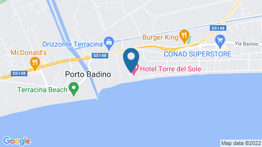 Hotel Torre Del Sole Map