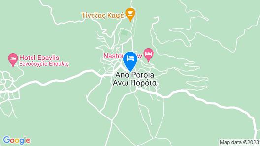 Nastou View Hotel Map