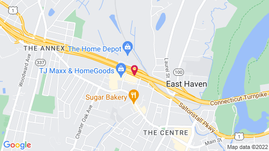 Quality Inn East Haven - New Haven Map